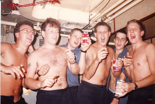 Stokers Mess 31/12/85