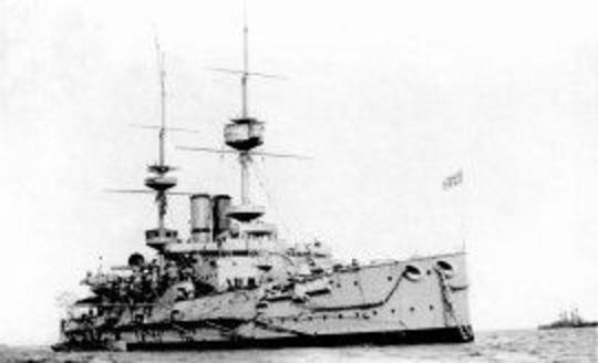 HMS JUPITER MAJESTIC CLASS