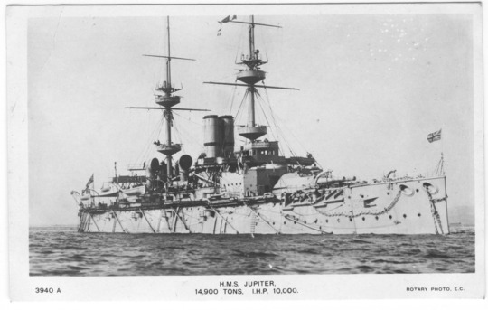 HMS JUPITER - MAJESTIC CLASS