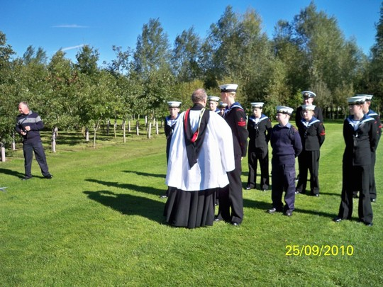 Padre & the Sea Cadets