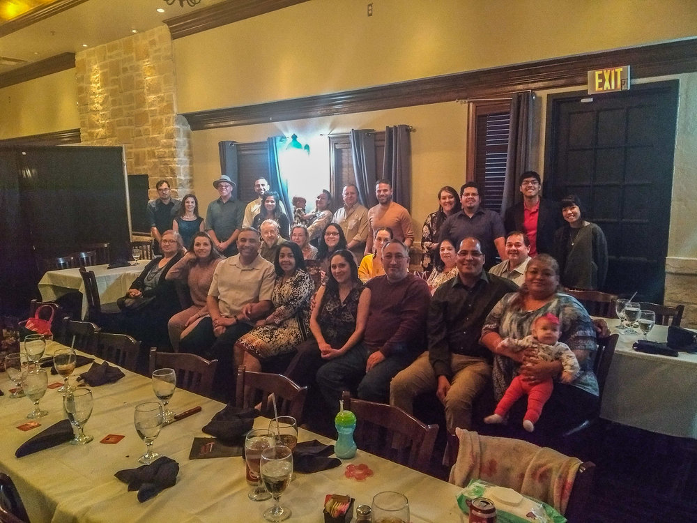 Our Music Ministry Dinner 2018