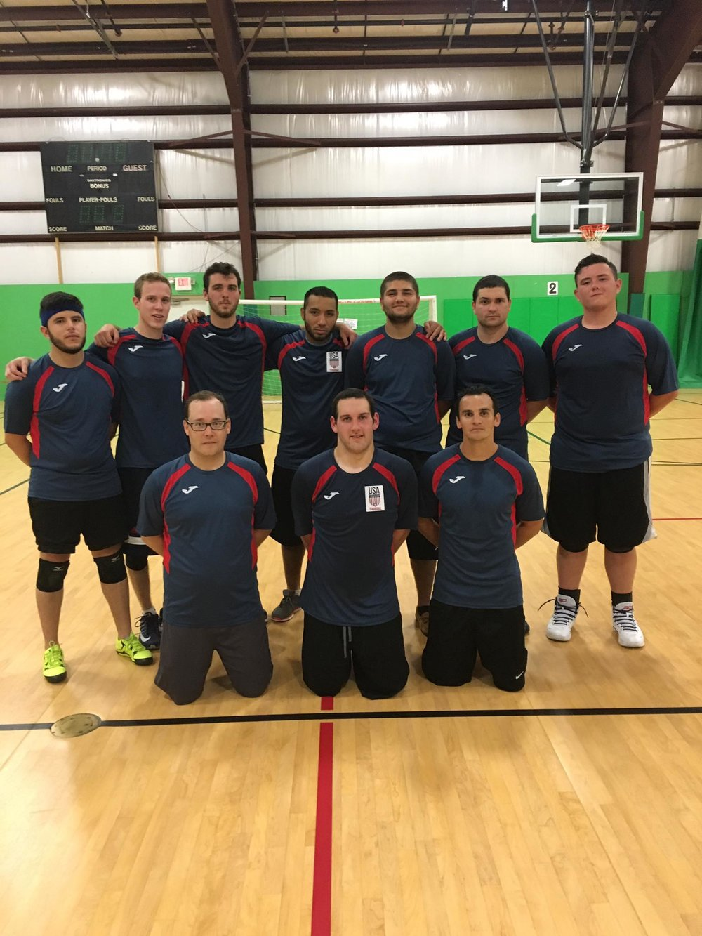 2016 National Team Members:  Back Row: Dan Castrillon-Reyes, Drew Leahy, Emmitt Harrow, Rey Gasavage, Johawar Singh, Andre Triolo-Carras, Brendan Berasain  Front Row: Steve Abreu, Tyler Vavrence, Rich Torok