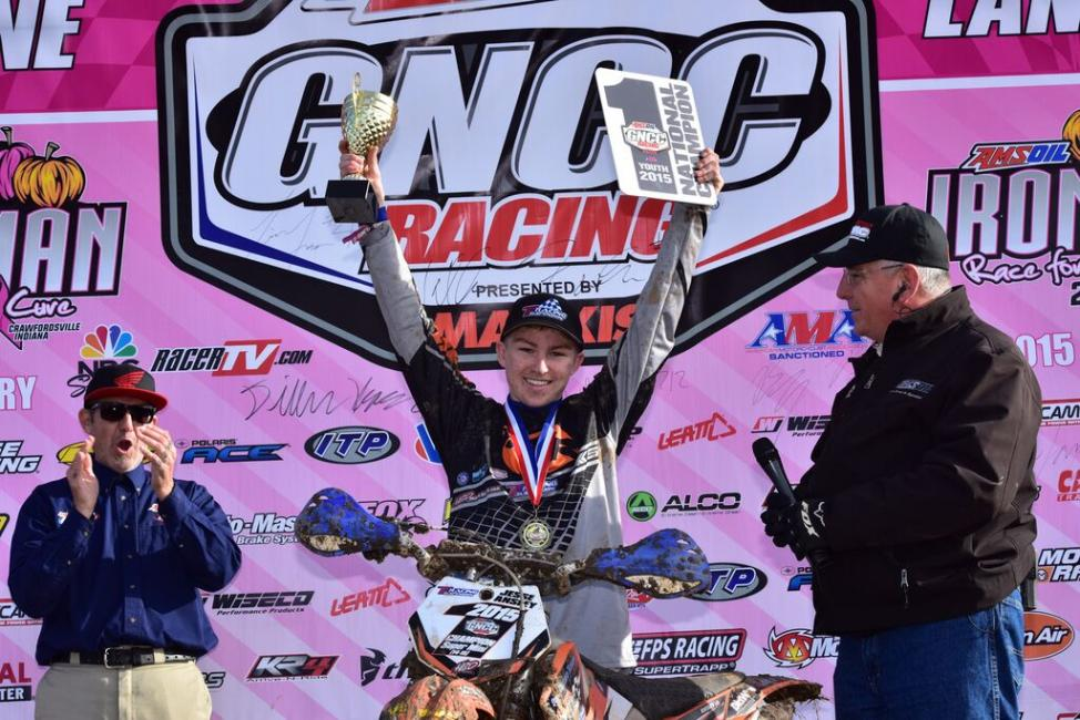 Jesse Ansley is crowned the 2015 Youth Overall Champion! - Photo: Ken Hill