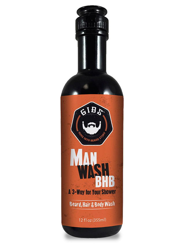 Guys Into Beard Stuff (GIBS) BHB Man Wash