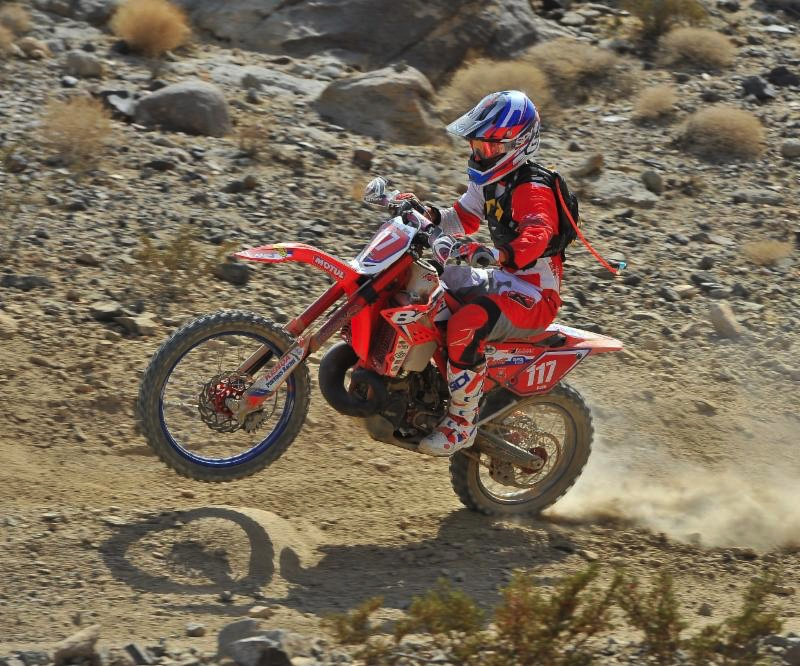 Damon Bush is the newest team member racing 250 RR's in the Pro class. Photo by Kato