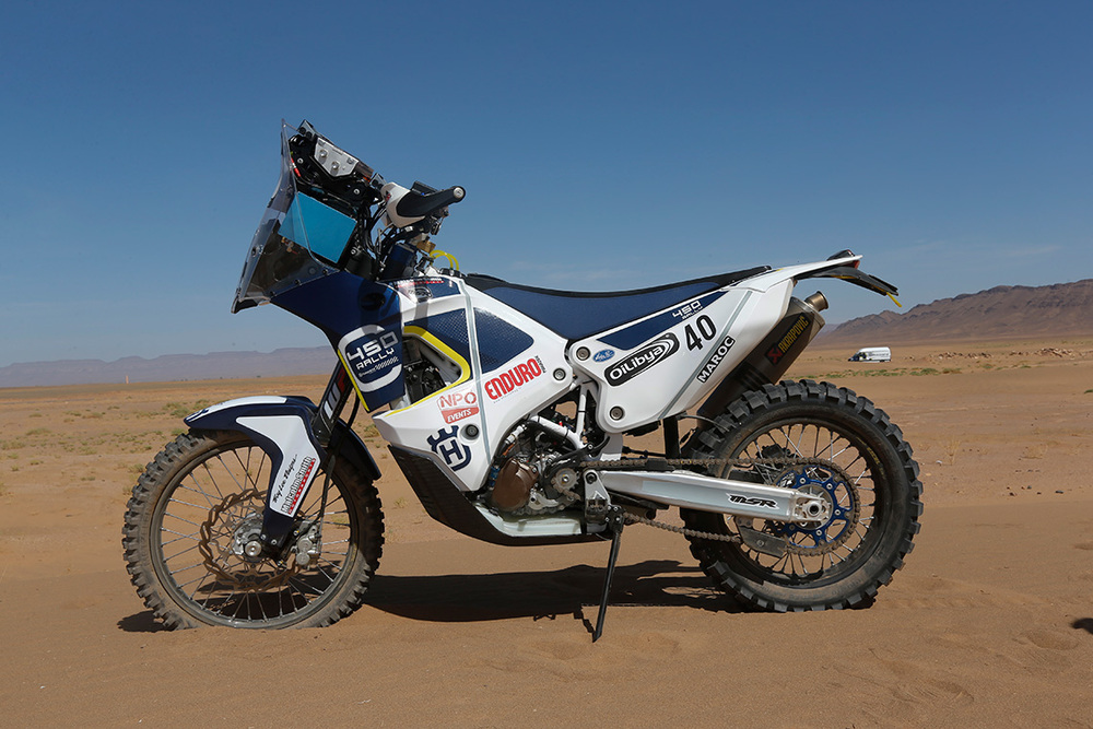 HT Rally Team Husqvarna 450RR Rally Bike