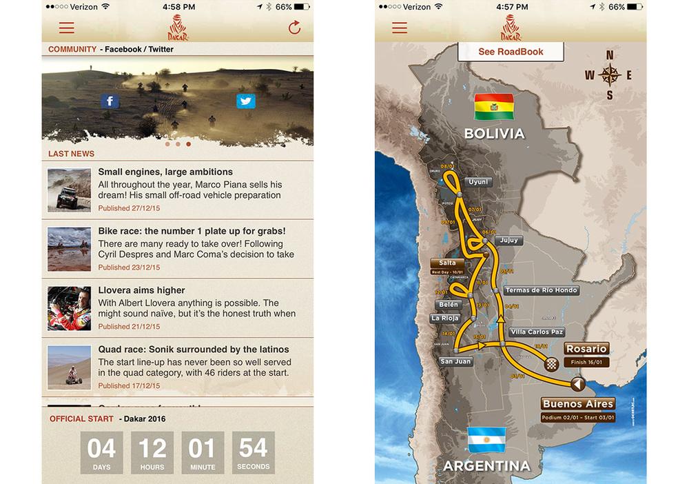 Dakar App