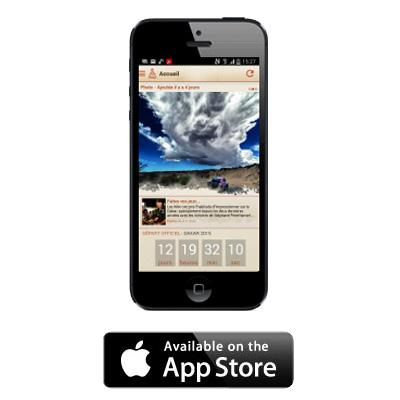 Dakar iPhone App