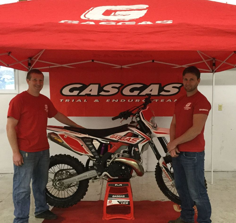 Former factory pro motocross racer Broc Hepler will race the GasGas machine in the ACES series in 2016.