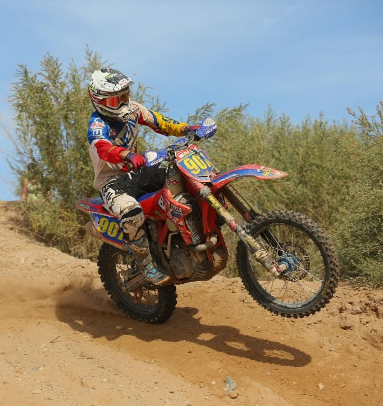 Justin Wallis gave Beta their first ever WORCS race victory!