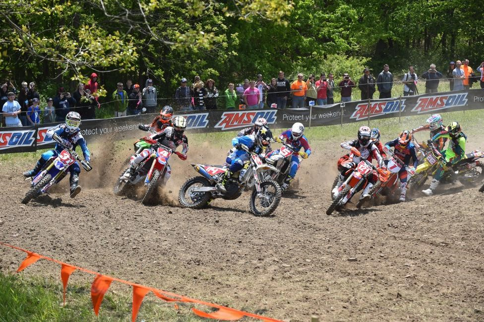 Daniel Milner grabbed the $250 All Balls Racing XC1 Pro Holeshot Award. Photo: Ken Hill.