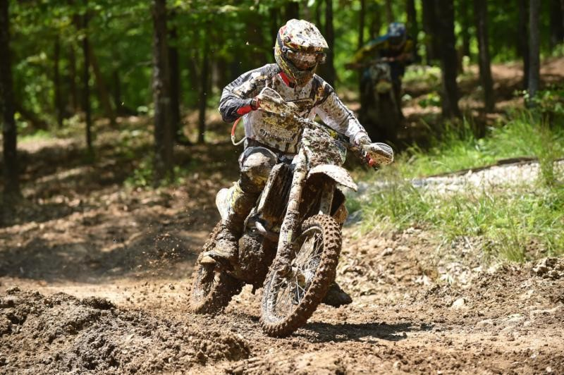 Layne Michael experienced a tough day at the Limestone 100. Photo: Ken Hill.