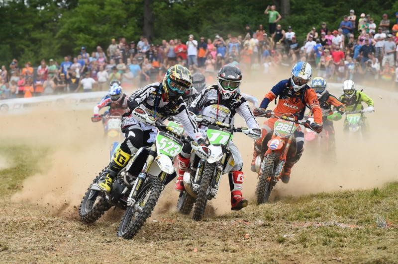 The Coastal Racing teammates battled hard on Sunday (#523 Michael) and (#11 DeLong). Photo: Ken Hill.