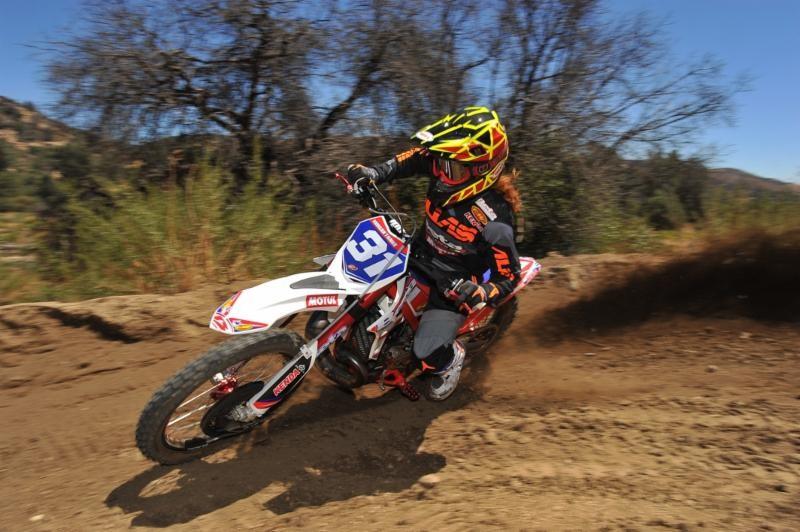 Tanke has some moto skills as well.