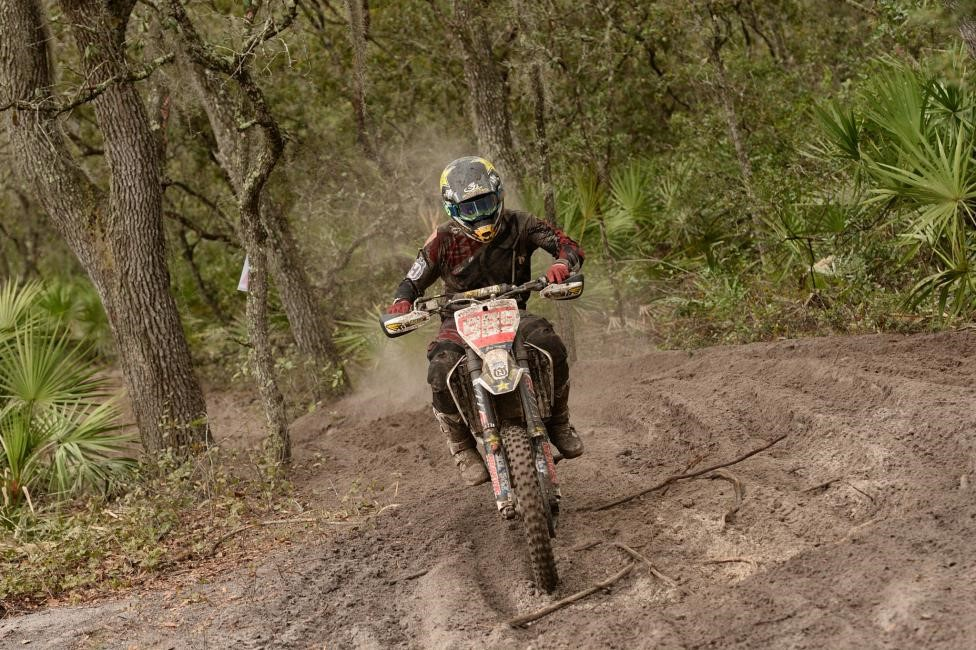 After ending his race early at the season opener, Thad Duvall came back looking for revenge where he finished second at the Moose Racing Wild Boar GNCC. Photo: Ken Hill.