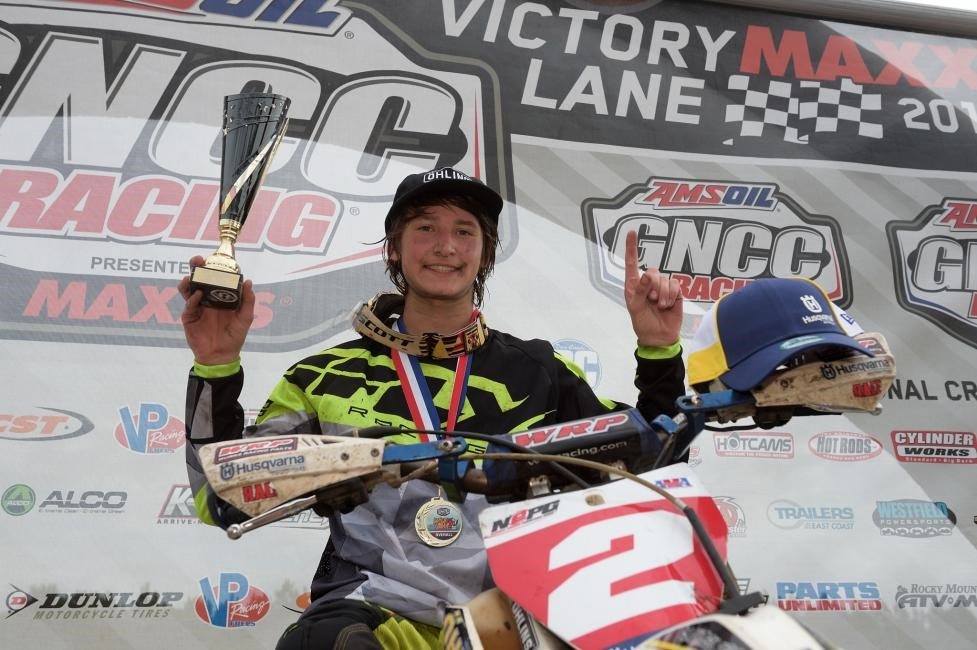 Zack Davidson secured the overall youth win, followed by Ryder Leblond and Michael Beeler Jr. Photo: Ken Hill.
