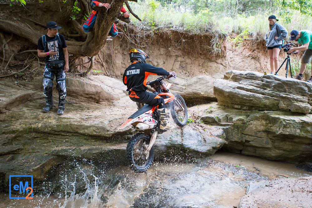 Ballzapallooza takes place on the former sight of the  Last Man Standing  extreme enduro.