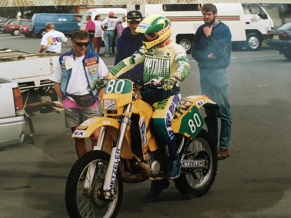 1992 ISDE in Australia. Photo: Shane Watts.