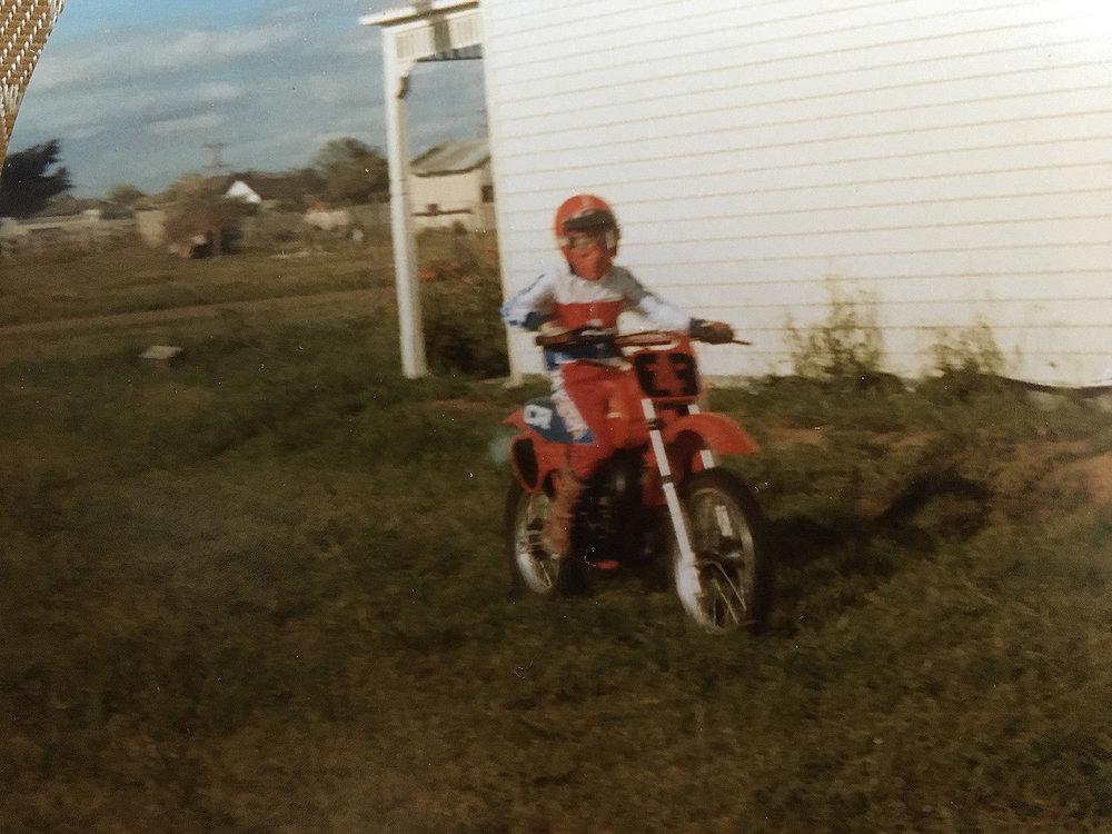 1983 CR80 at home. Photo: Shane Watts.