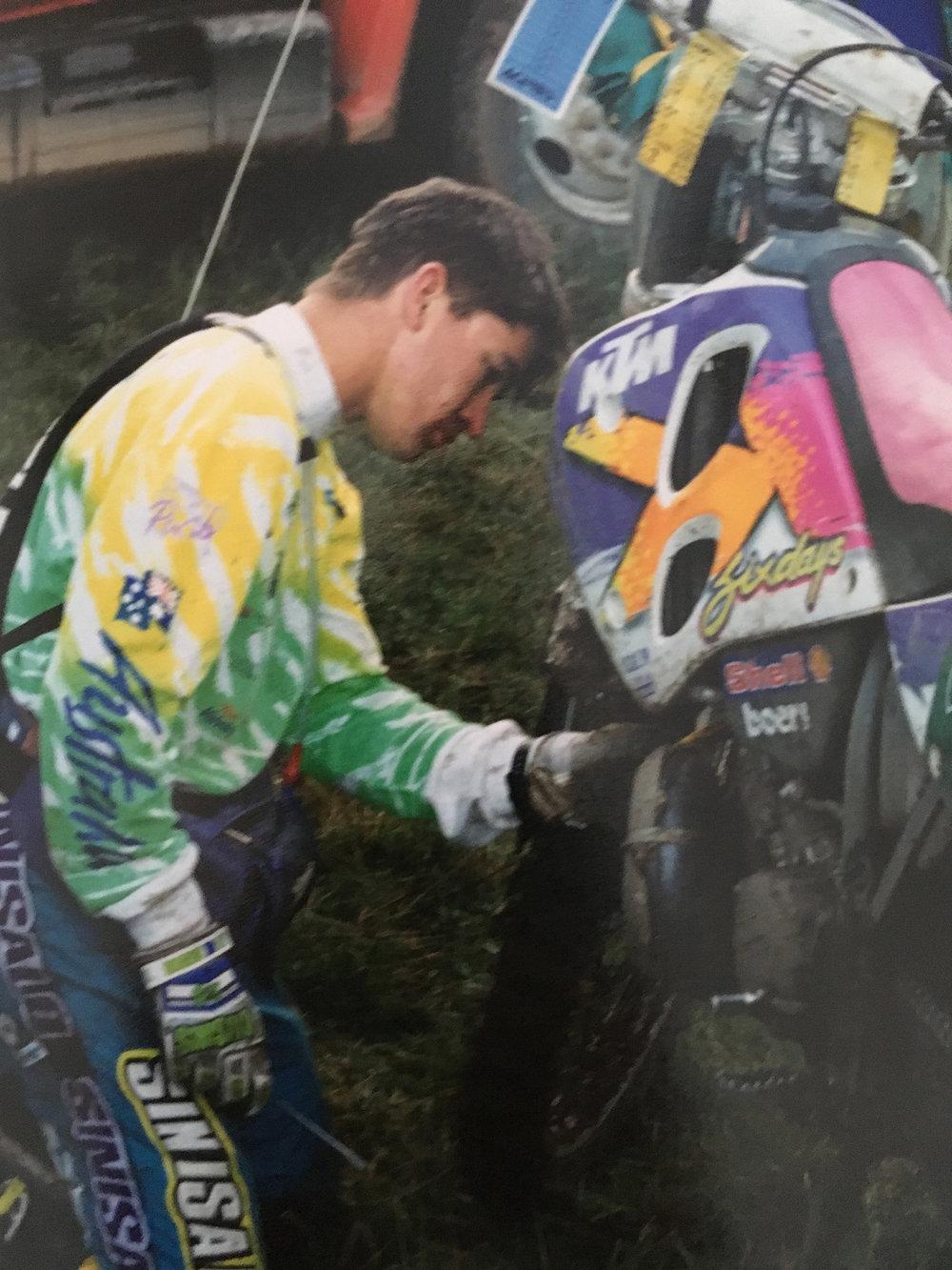Tulsa ISDE 1994. Photo: Shane Watts.