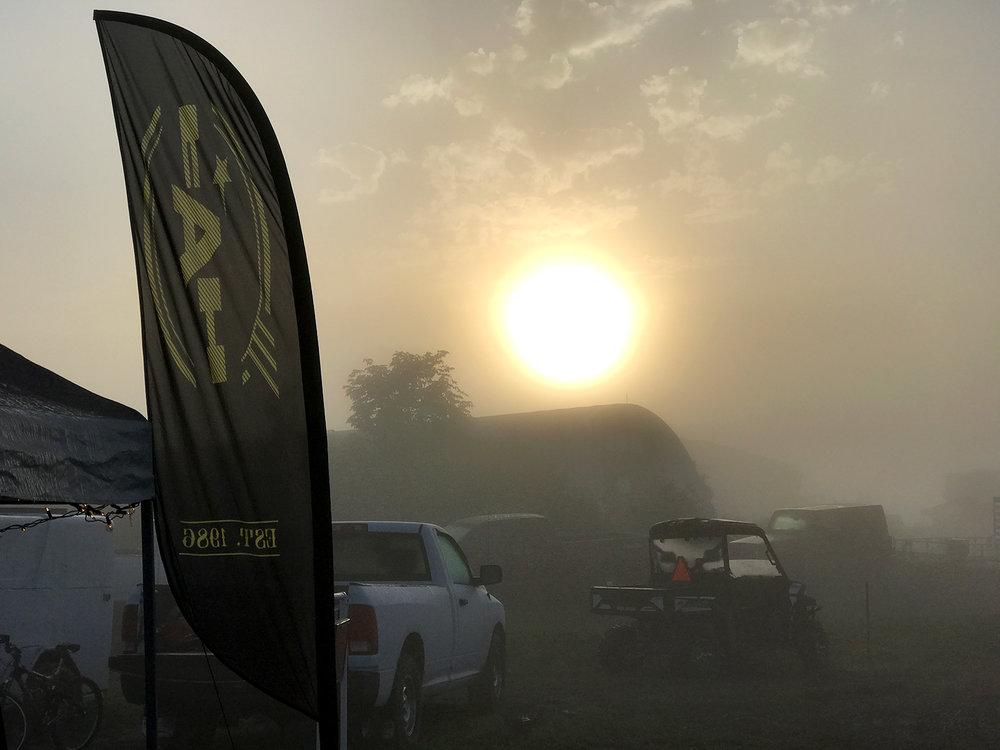 Foggy FAHQ2 pits.