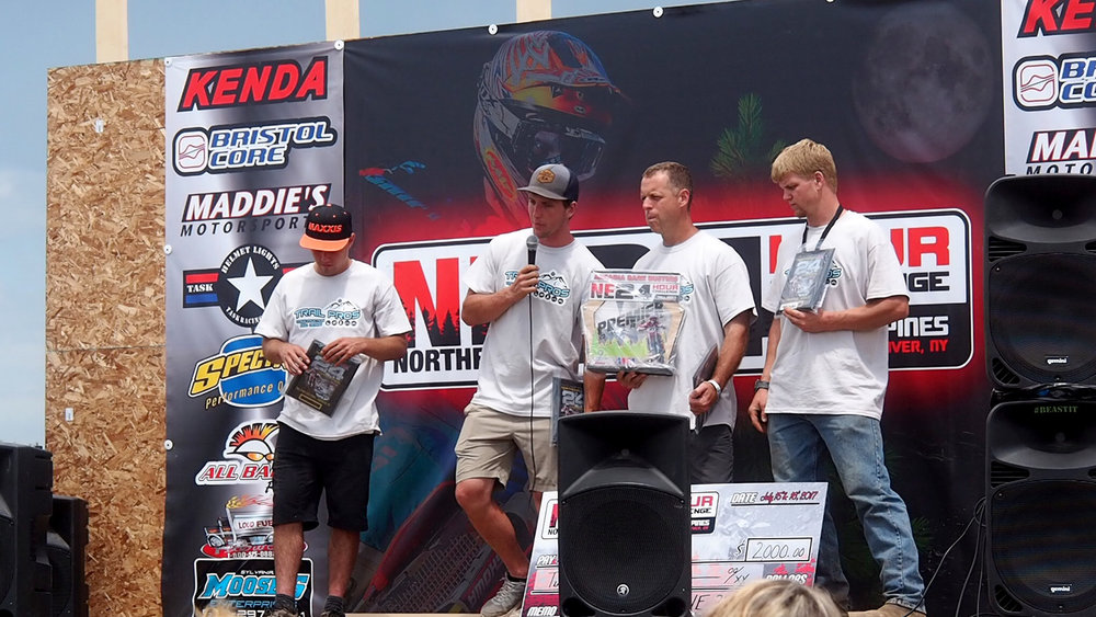 Overall winners Team Trail Pros: Craig DeLong, Nick Davis, Billy Schlag, and Zach Nolan.
