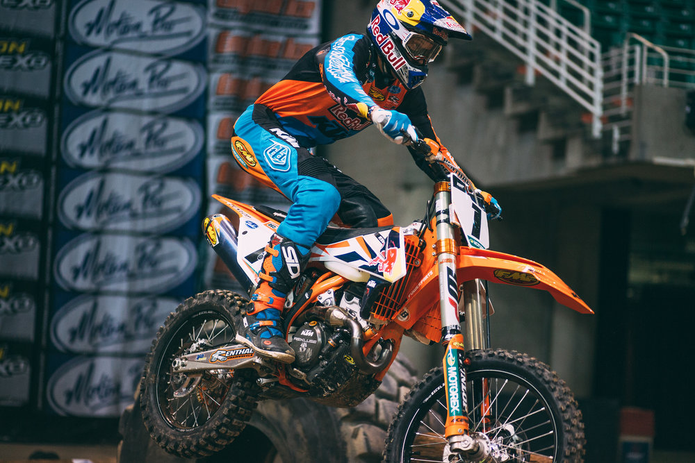 Having qualified to race this year's ISDE in France, finished third at the Erzbergrodeo for the second straight year, and chasing a possible fifth straight Tennessee Knockout Extreme Enduro win, Cody Webb is in a good place coming into the series opener. Follow:  @codywebb2  // Photo: Tanner Yeager.