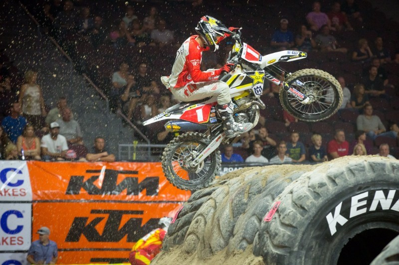 """Rockstar Husqvarna's Haaker took the win at round one. Photo: Adam Booth        Normal   0           false   false   false     EN-US   X-NONE   X-NONE                                                                                                                                                                                                                                                                                                                                                                                                                                                                                                                                                                                                                                                                                                                                                                                                                                                                       /* Style Definitions */  table.MsoNormalTable {mso-style-name:""""Table Normal""""; mso-tstyle-rowband-size:0; mso-tstyle-colband-size:0; mso-style-noshow:yes; mso-style-priority:99; mso-style-parent:""""""""; mso-padding-alt:0in 5.4pt 0in 5.4pt; mso-para-margin:0in; mso-para-margin-bottom:.0001pt; mso-pagination:widow-orphan; font-size:10.0pt; font-family:""""Times New Roman"""",serif;}"""
