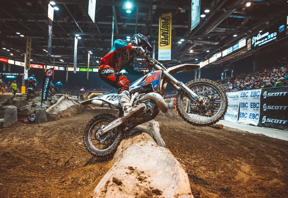Cory Graffunder put in a great ride in Boise to finish second. Photo: Tanner Yeager.