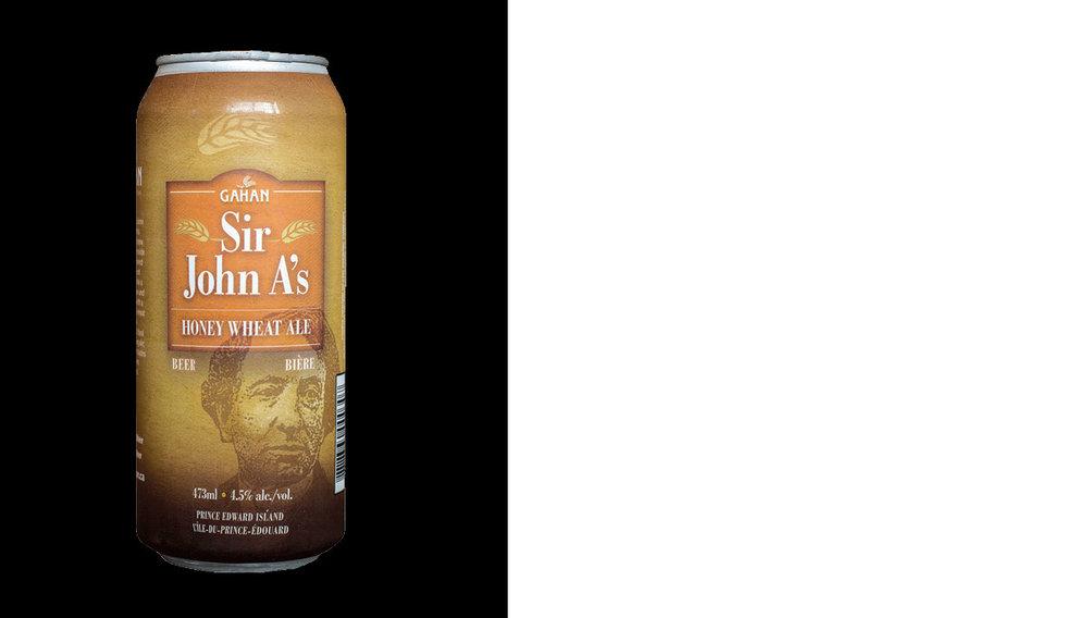Sir John A Honey Wheat Ale -