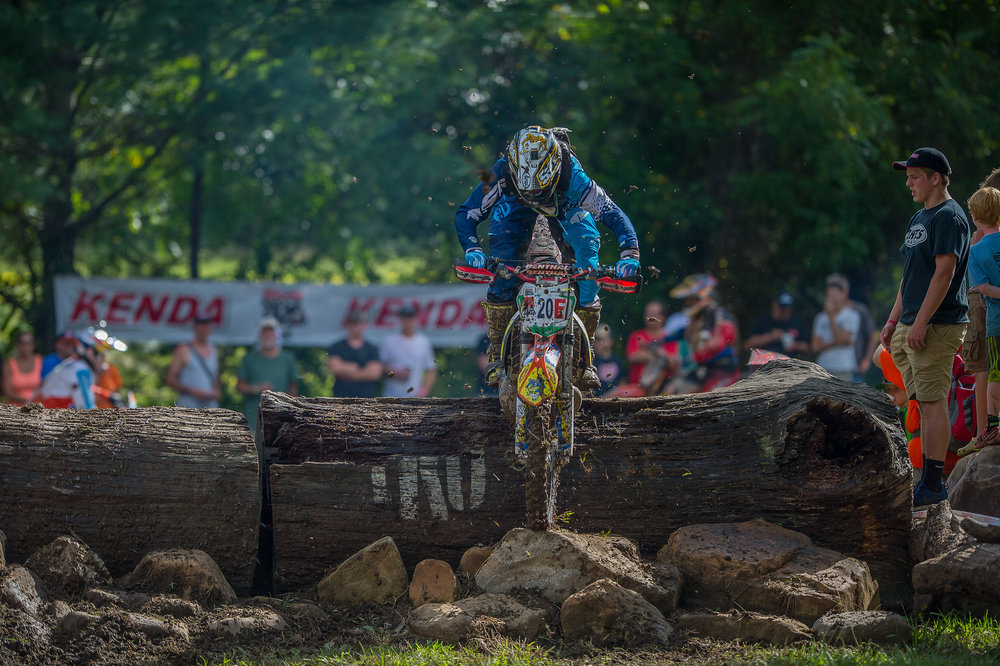 Ben Kelley competing in a 2016 extreme off-road event. Photo: Shan Moore