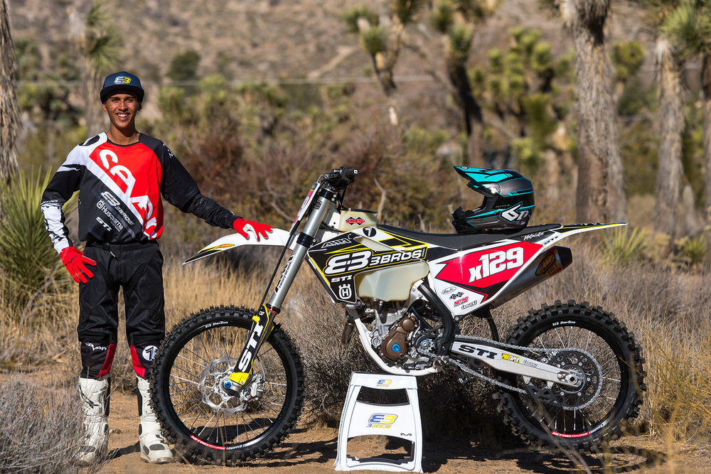 Jacob Alvarez will race the Big 6 series in the WCGP Pro II class, and WORCS series in the Pro 2 lights class piloting a Husqvarna FC 250.