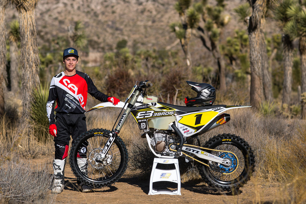 Big 6 Champ Zach Bell moves to the 3 Bros. STI Husqvarna team for 2018.