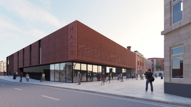 Artists impression of the new venue