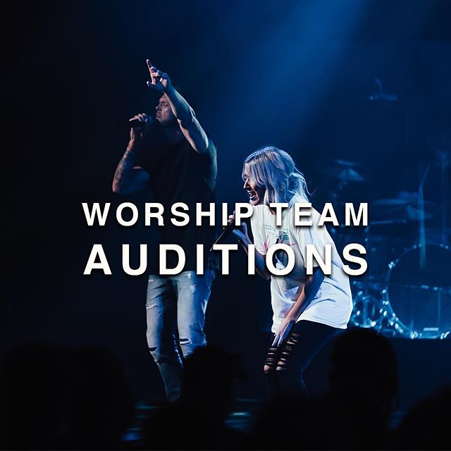 If you're a musician and looking for your place to serve at church, this is for you! Go to redrocksworship.com/auditions to set up your audition for our weekend worship team.💥