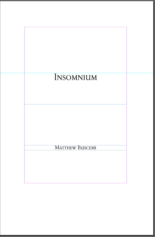Insomnium Title Page