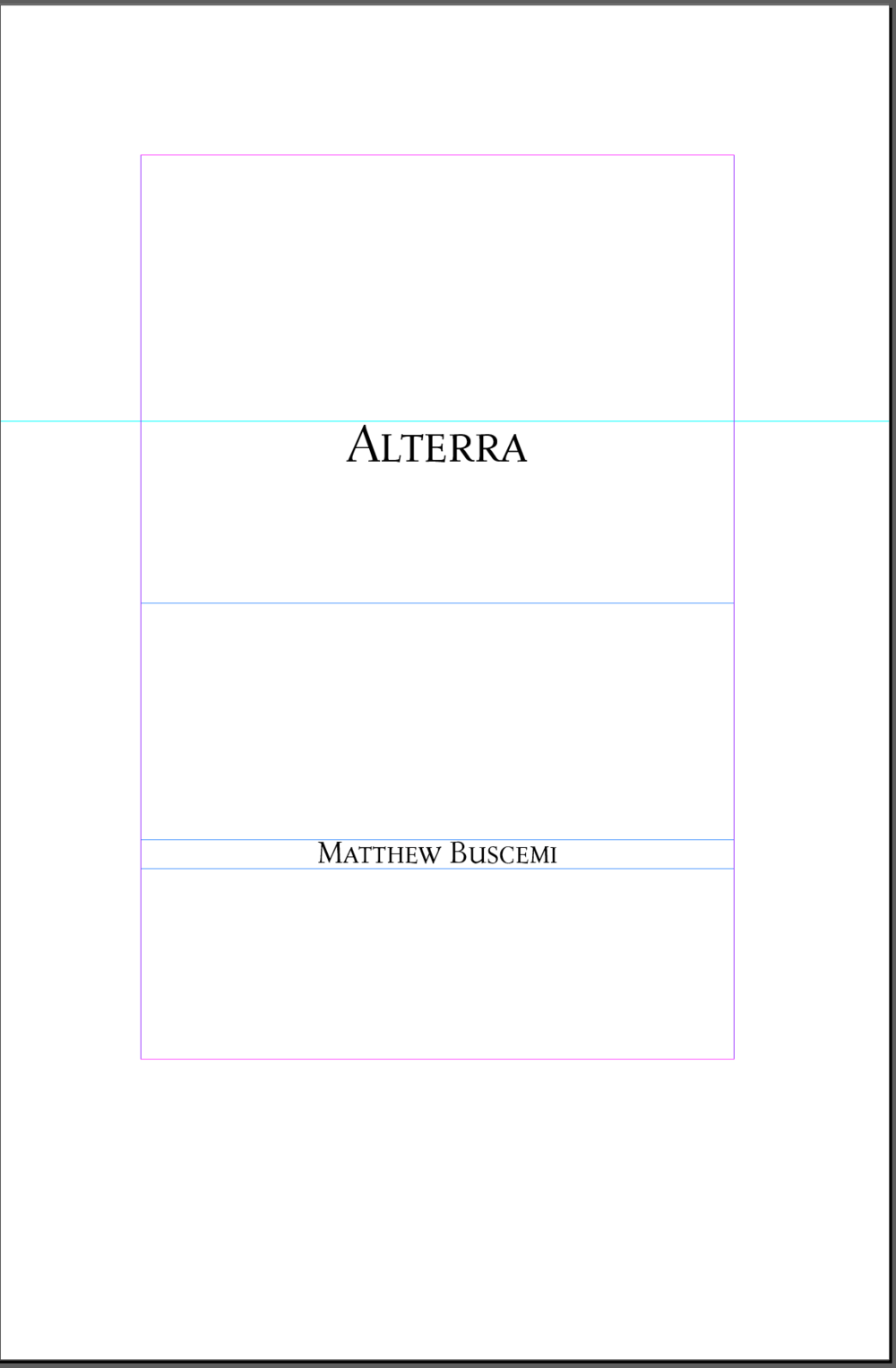 Alterra Title Page