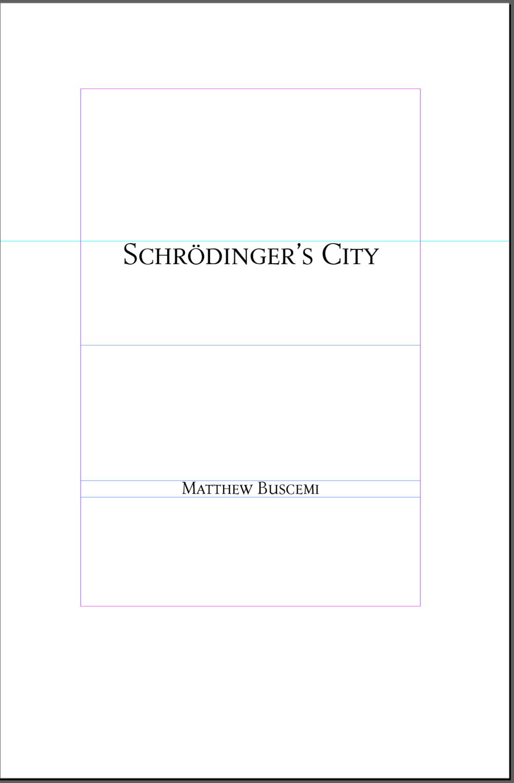 Schrödinger's City Title Page