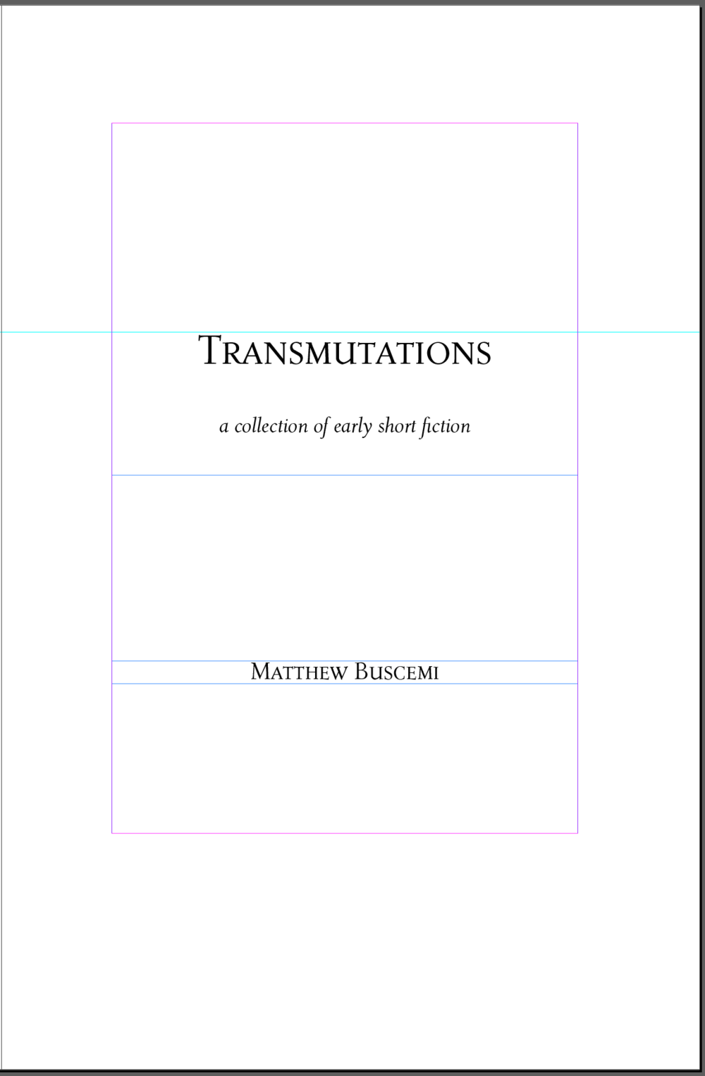 Transmutations Title Page