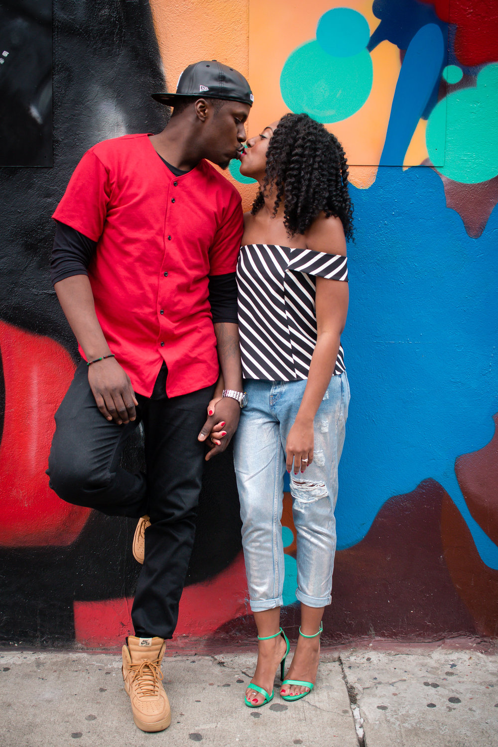 Kate-Alison-Photography-Lower-East-Side-NYC-Engagement-Session-Street-Art