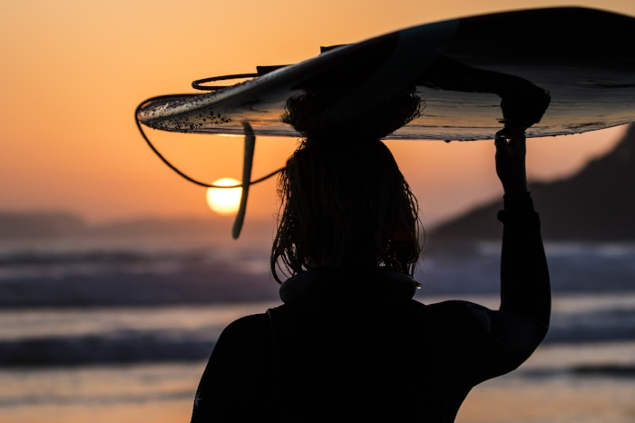 July 15th - While shooting one of many amazing summer sunsets in Tofino, I ran into a friend of mine from Storm Surf Shop.   16x24 canvas print available for purchase at  Storm Surf Shop.