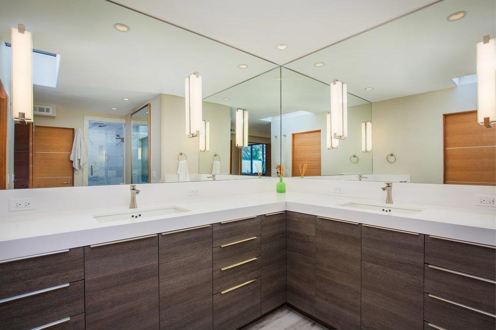 Carrera Marble Modern Bath
