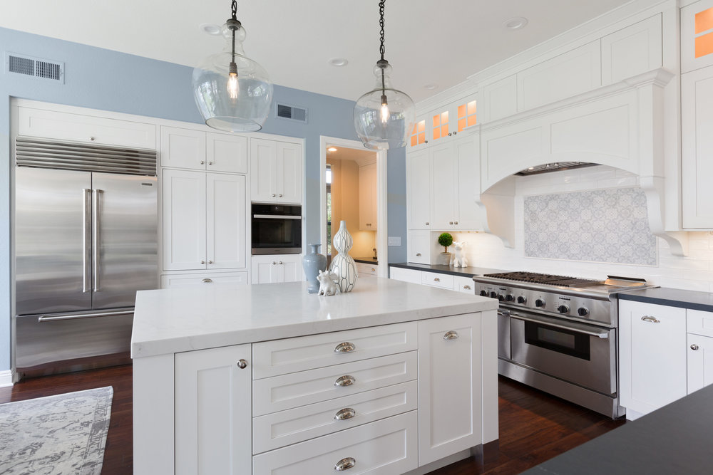 Carlsbad White Shaker Kitchen