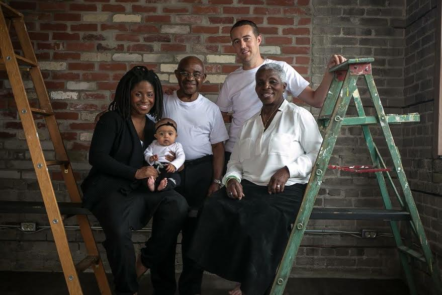 Stella Umeh with her beloved family.