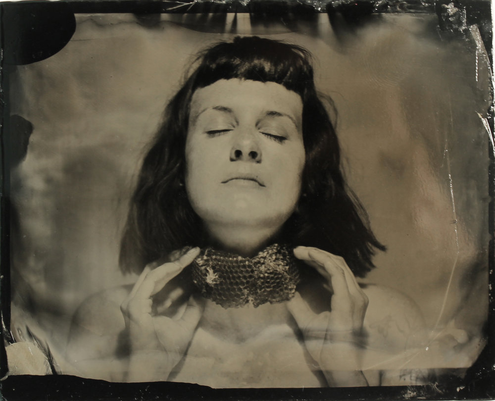Self Portrait  tintype, 2017