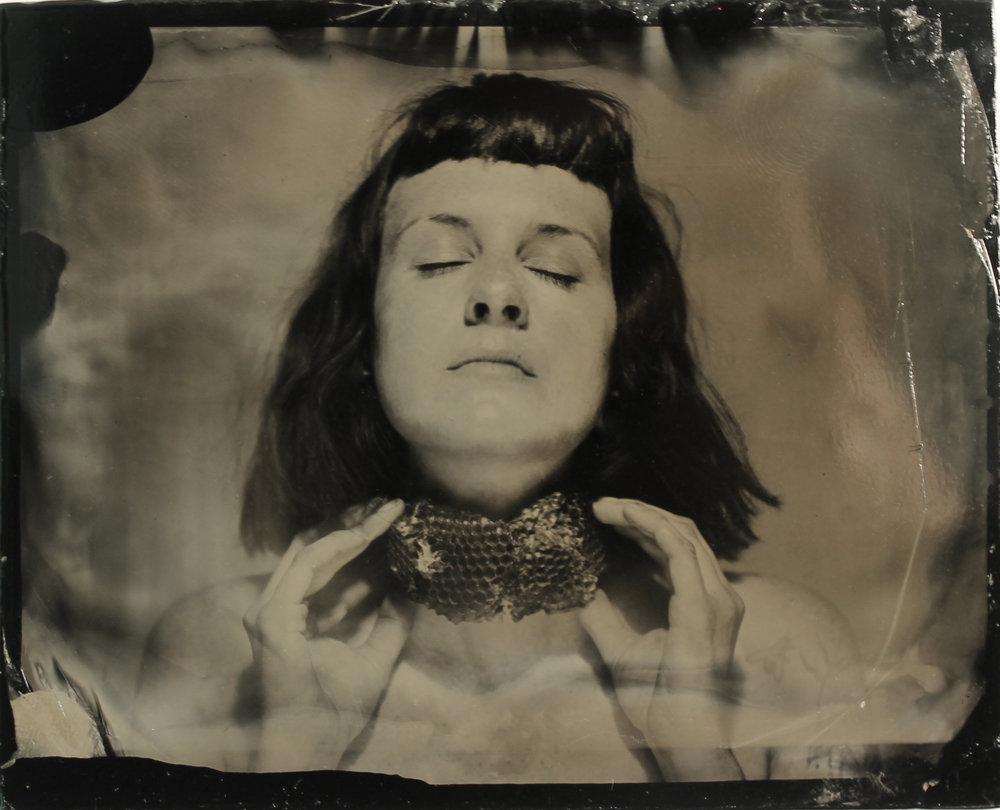 Self Portrait  tintype, 2017