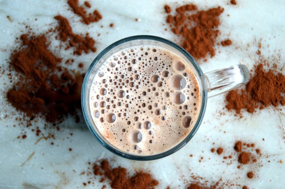 SWEET & SALTED CARAMEL HOT COCOA -