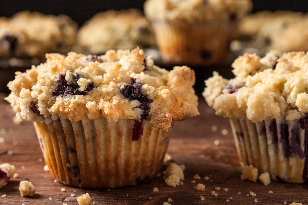 BLUEBERRY MUFFIN CRUMBLE -