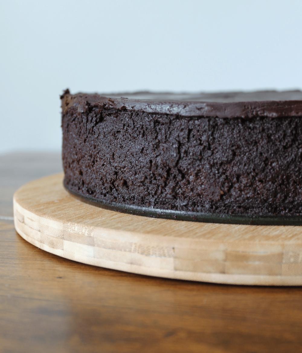 DARK CHOCOLATE MOUSSE CAKE -