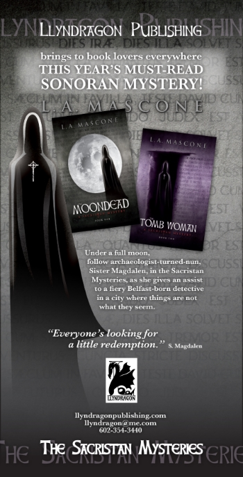 The Moondead and The Tomb Woman, by L.A. Mascone